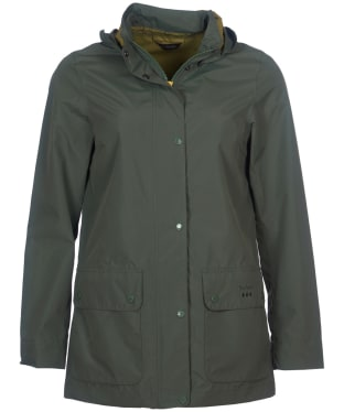 Women's Barbour Fourwinds Waterproof Jacket - Moss Green