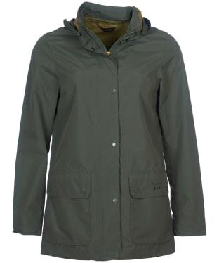 Women's Barbour Fourwinds Waterproof Jacket - Moss Green
