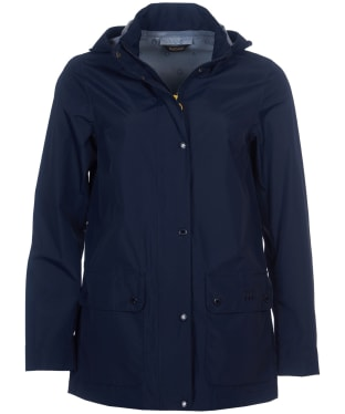 Women's Barbour Fourwinds Waterproof Jacket - Navy