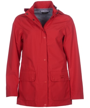 Women's Barbour Fourwinds Waterproof Jacket - Reef Red