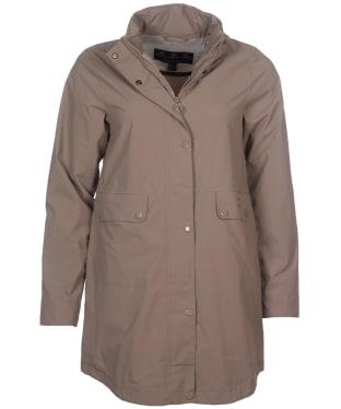 Women's Barbour Katafront Waterproof Jacket - Soft Gold