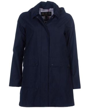 Women's Barbour Outflow Waterproof Jacket - Navy