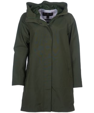 Women's Barbour Subtropic Waterproof Jacket - Moss Green