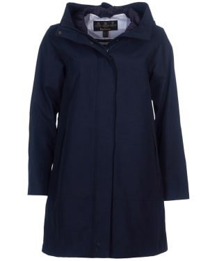 Women's Barbour Subtropic Waterproof Jacket - Navy