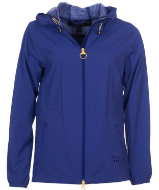 Women's Barbour Leeward Waterproof Jacket - Eclipse