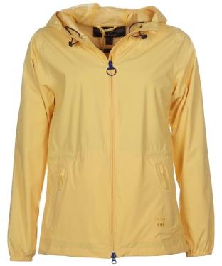 Women's Barbour Leeward Waterproof Jacket - Dandelion Yellow
