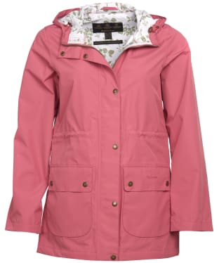 Women's Barbour Foxlands Waterproof Jacket - Tayberry Ladybird