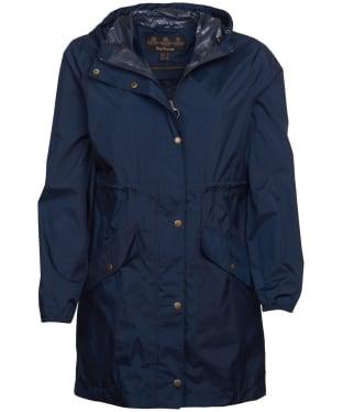 Women's Barbour Simonside Waterproof Packable Jacket - Navy