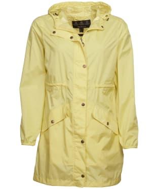 Women's Barbour Simonside Waterproof Packable Jacket - Sunshine