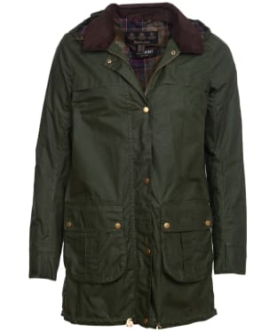 Women's Barbour Lightweight Cheviot Waxed Jacket