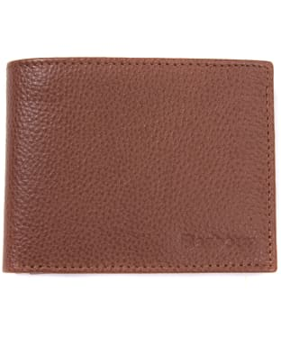 Men's Barbour Fold Out Wallet - Tan