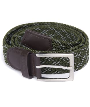 Men's Barbour Mariner Ford Belt - Sage / Agave Green