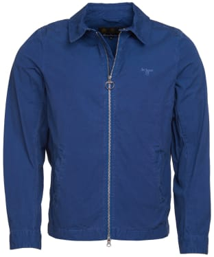 Men's Barbour Essential Casual Jacket - North Sea Blue