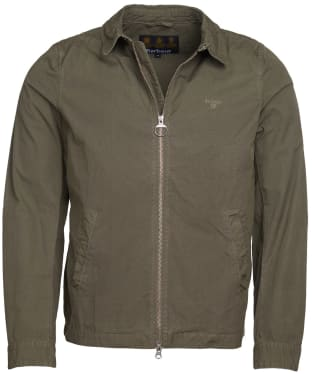Men's Barbour Essential Casual Jacket - Dusty Olive