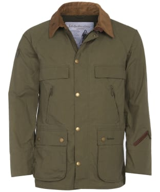 Men's Barbour Bedale Casual Jacket - Olive