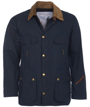 Men's Barbour Bedale Casual Jacket - Navy