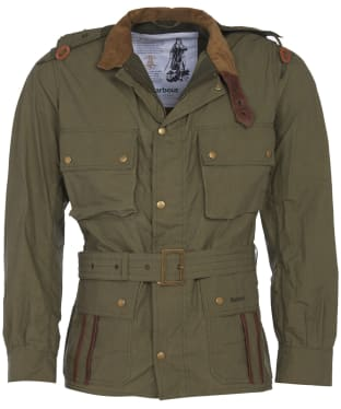 Men's Barbour Icons Ursula Casual Jacket - Olive