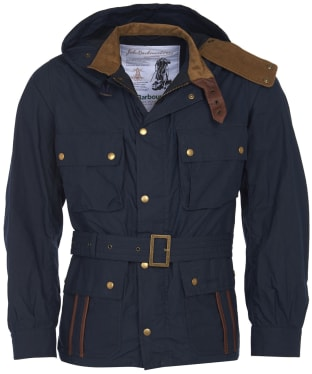 Men's Barbour Icons Ursula Casual Jacket - Navy