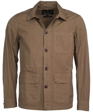Men's Barbour Quenton Casual Jacket - Sand