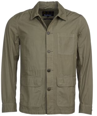 Men's Barbour Quenton Casual Jacket - Light Moss