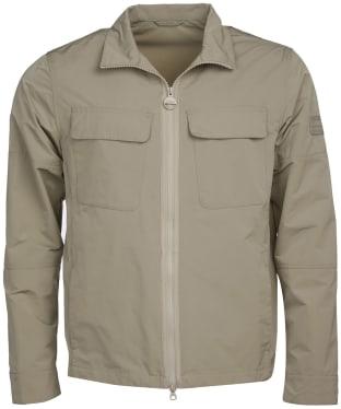Men's Barbour International Shaw Shirt Casual Jacket - Concrete
