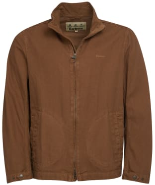 Men's Barbour Malton Casual Jacket - Caramel