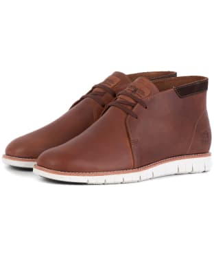 Men's Barbour Boughton Chukka Boot - Amber Leather