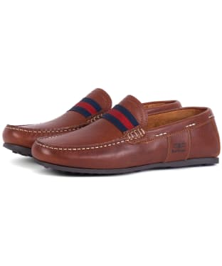 Men's Barbour Mansell Loafers - Cognac
