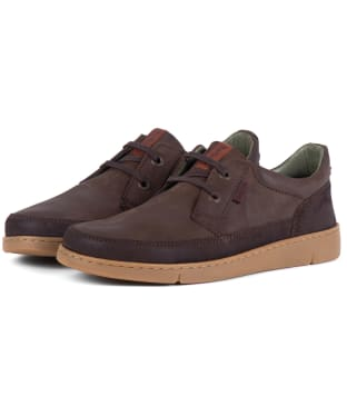 Men's Barbour Glider Shoes - Brown Nubuck
