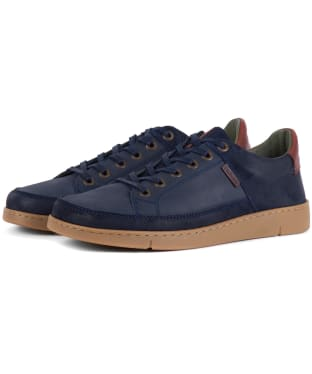 Men's Barbour Bilby Shoes - Navy Nubuck