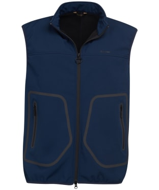 Men's Barbour Livingstone Fleece Gilet - Navy