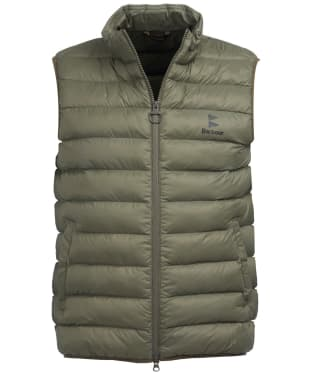 Men's Barbour Brund Gilet - Dusty Olive