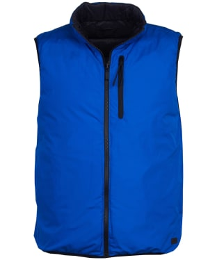 Men's Barbour International Cannon Reversible Gilet - Electric Blue