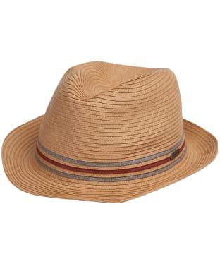 Men's Barbour Haltwhistle Trilby Hat - Stone