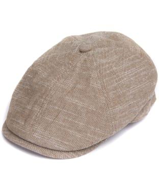 Men's Barbour Culloden Bakerboy Cap - Khaki