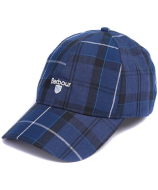 Men's Barbour Tartan Sports Cap - Ink Tartan