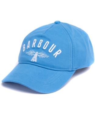 Men's Barbour Hartland Sports Cap - Parisien Blue / White