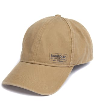 Men's Barbour International Steve McQueen Racer Sports Cap - Trench
