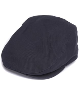 Men's Barbour Contin Flat Cap - Navy