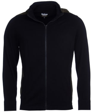 Men's Barbour International Aspect Zip Thru Knit - Black