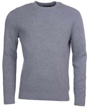 Men's Barbour Fjord Crew Sweater - Grey Marl