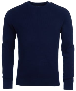 Men's Barbour Fjord Crew Sweater - Navy