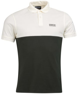 Men's Barbour International Cotter Polo Shirt - Whisper White