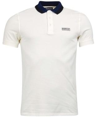 Men's Barbour International Ampere Polo - Whisper White