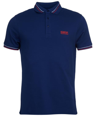 Men's Barbour International Switch Tipped Polo Shirt - Regal Blue