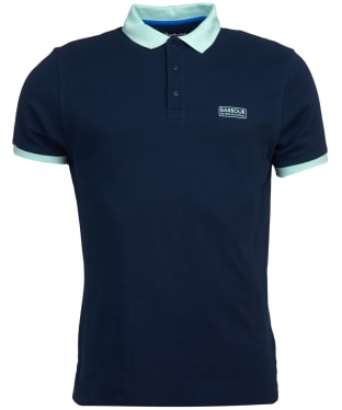 Men's Barbour International System Polo Shirt - Navy