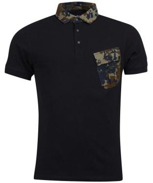 Men's Barbour International Pace Pocket Polo Shirt - Black