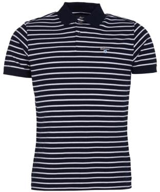 Men's Barbour Styhead Stripe Polo Shirt - Navy