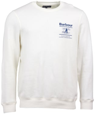 Men's Barbour Reed Crew Sweater - Ecru