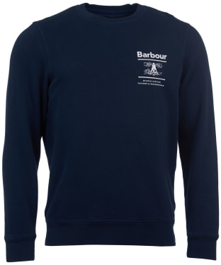 Men's Barbour Reed Crew Sweater - Navy